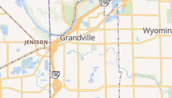 Grandville, Michigan map