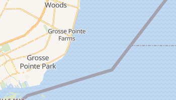 Grosse Pointe Farms, Michigan map