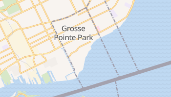 Grosse Pointe Park, Michigan map