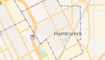Hamtramck, Michigan map