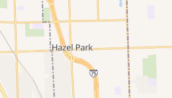 Hazel Park, Michigan map