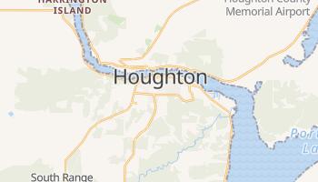 Houghton, Michigan map