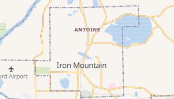 Iron Mountain, Michigan map