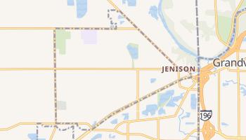 Jenison, Michigan map