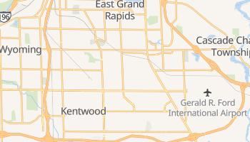 Kentwood, Michigan map