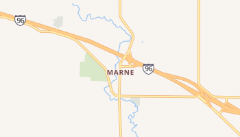 Marne, Michigan map