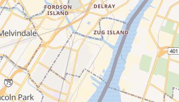 River Rouge, Michigan map