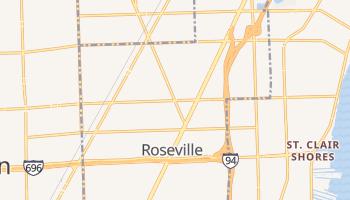 Roseville, Michigan map