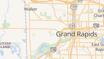 Walker, Michigan map