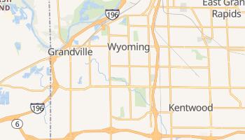 Wyoming, Michigan map
