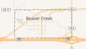 Beaver Creek, Minnesota map