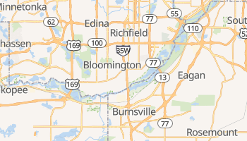 Bloomington, Minnesota map