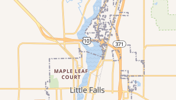 Little Falls, Minnesota map