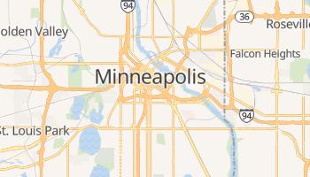 Minneapolis, Minnesota map