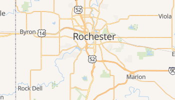 Rochester, Minnesota map