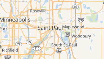 Saint Paul, Minnesota map