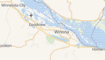 Winona, Minnesota map