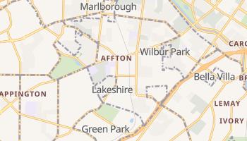 Affton, Missouri map