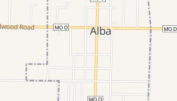 Alba, Missouri map