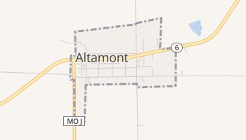 Altamont, Missouri map