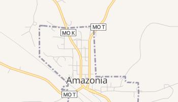 Amazonia, Missouri map