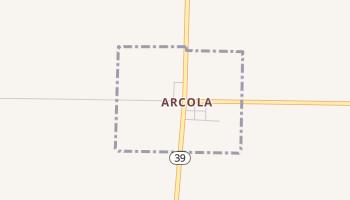 Arcola, Missouri map