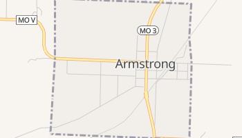 Armstrong, Missouri map
