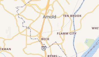 Arnold, Missouri map