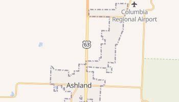 Ashland, Missouri map