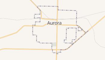 Aurora, Missouri map