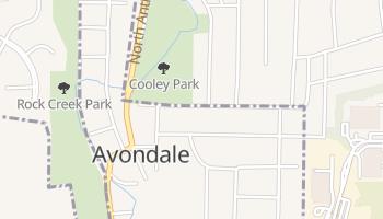 Avondale, Missouri map