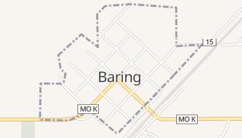 Baring, Missouri map
