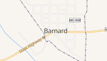 Barnard, Missouri map