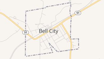 Bell City, Missouri map
