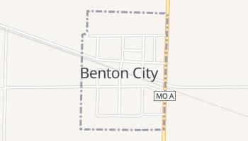 Benton City, Missouri map