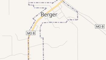 Berger, Missouri map
