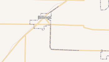 Billings, Missouri map