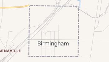 Birmingham, Missouri map
