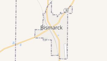 Bismarck, Missouri map