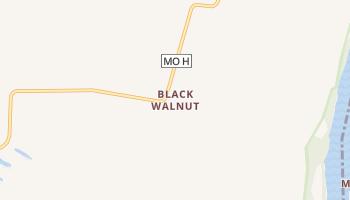 Black Walnut, Missouri map