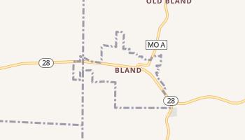 Bland, Missouri map