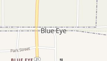 Blue Eye, Missouri map