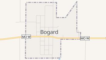 Bogard, Missouri map