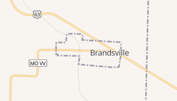 Brandsville, Missouri map