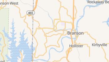 Branson, Missouri map