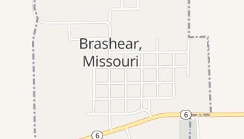 Brashear, Missouri map