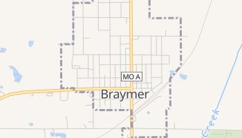 Braymer, Missouri map