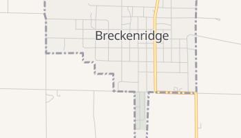 Breckenridge, Missouri map