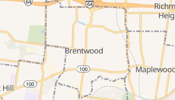 Brentwood, Missouri map