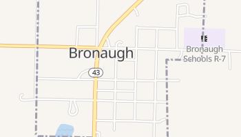 Bronaugh, Missouri map